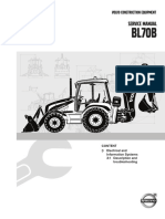 Service Manual BL70B, 3 Electrical and Information Systems, Description and Troubleshooting
