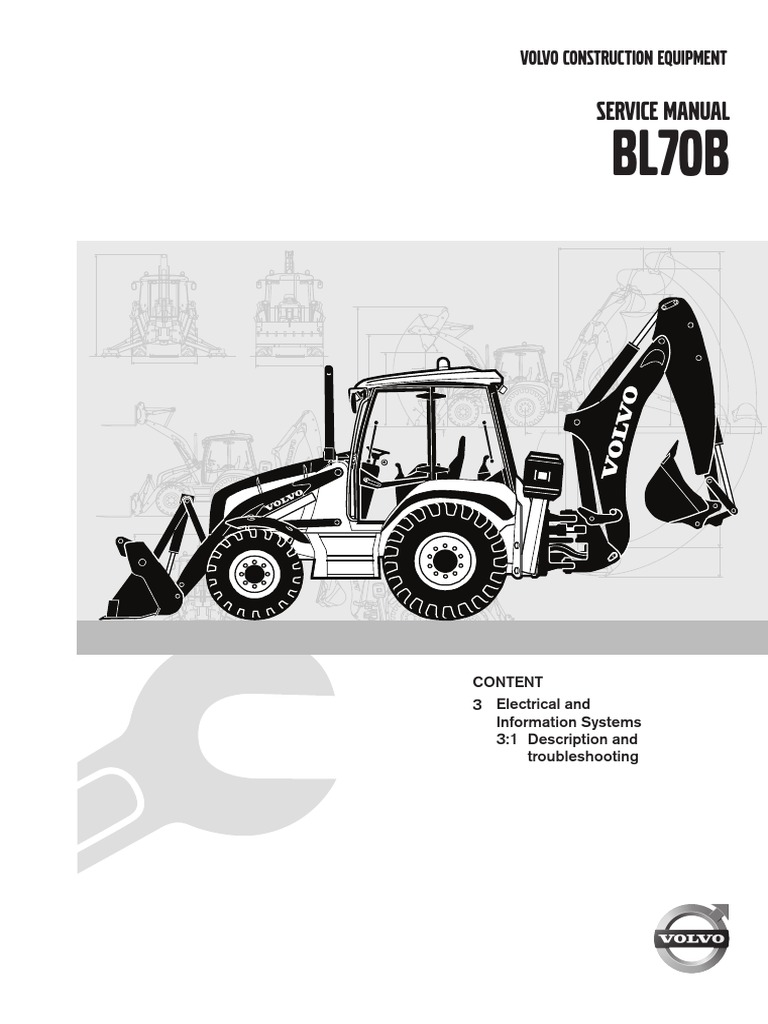 Service Manual BL70B, 3 Electrical and Information Systems ... on