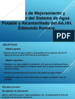 Edmundo Romero Abastecimiento de Agua