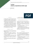 Ficha Clínica Importancia y Trascendencia Médico Legal