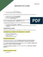 Capitulo 18 - Examen Basico de Orina - Resumen