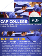 CAP College Company Profile