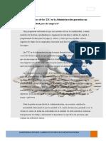 Administracion Del Cambio en Un Proceso de Reingenieria