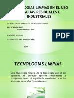 Tecnologias Limpias en El Uso de Aguas Residuales e Lam