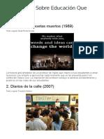 10 Películas Sobre Educación Que Debes Ver