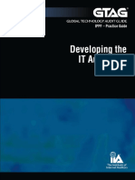 GTAG 11 - Developing the IT Audit Plan.pdf