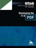 GTAG 11 - Developing the IT Audit Plan.pdf