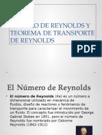 Numero de Reynolds y Teorema de Transporte Diapos 2016 0
