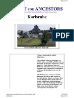 karlsruhe history good now called Stepovoye