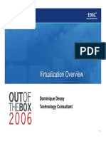 EMC Virtulization Overview