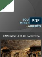 Equipos de Minería Rajo Abierto