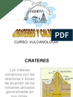 1.- Crateres y Calderas