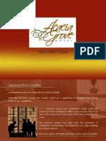 Acacia Grove Hotel Project Brief