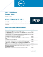 Changebase 6.2.2 Releasenotes