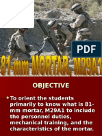 81 Mm Mortar