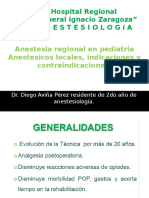 Anestesicos Locales en Pediatria