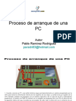 Proceso Arranque Pc
