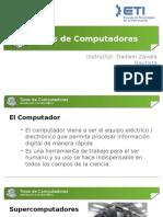 1. Tipos de Computadoras