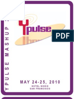 Event Program | 2010 Ypulse Youth Marketing Mashup