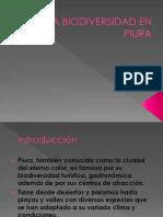 La Biodiversidad en Piura 2016