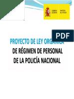 Proyecto Ley Régimen Personal Policía Nacional
