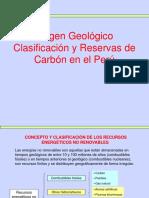 Carbon Semana 2 Origen Clasificación y Reservas de Carbón