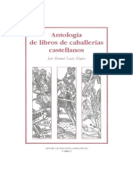 Antologia de Libros de Caballerias Castellanos