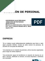 HUACHO Direccion de Personal. 2011