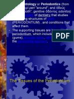 1 the Tissues of the Periodontium 2