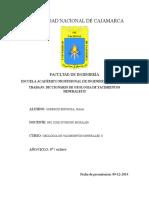 Diccionario de Geologia de Yacimientos Minerales II