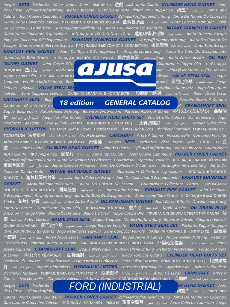 Ajusa  11024600 Gasket  cylinder head cover
