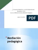 Mediación pedagógica