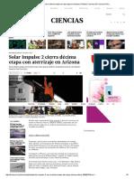 Solar Impulse 2 Cierra Décima Etapa Con Aterrizaje en Arizona _ Planeta _ Ciencias _ El Comercio Peru