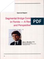 Segmental Bridge Construction in Florida-A Review and Perspective