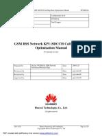 GSM BSS Network KPI SDCCH Call Drop Rate Optimization Manual