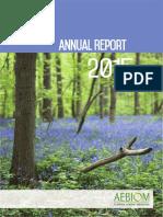 AEBIOM Annual Report 2015