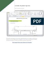 Hoja de Excel Para Diseño de Puente Viga