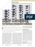 HVAC Selection for Envelope-Dominated Buildings