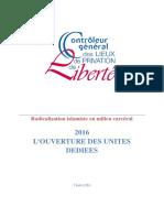 Radicalisation. Rapport critique sur les premiers regroupements d'islamistes en prison