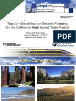 Californi High-speed Presentation 2011