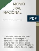 Seminario Patrimonio Nacional