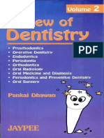 Review of Dentistry Pankaj Dhawan