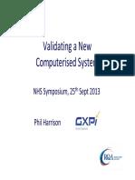 2. Validating a New System, V3 - RQA