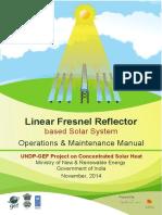 Linear Fresnel Reflector-LFR_E