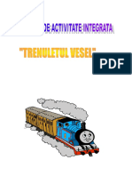 Proiect de Activitate Integrata Trenuletul