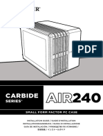 CARBIDE Air240 InstallGuide