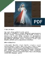Divine Mercy Tamil