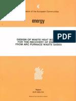 Design of Waste Heat Boiler