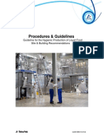 Guideline for Hygienic Production of Liquid Site
