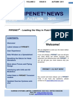 Pipenet News Autumn 2011